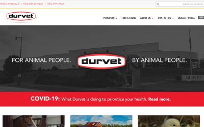 Now Available through Durvet