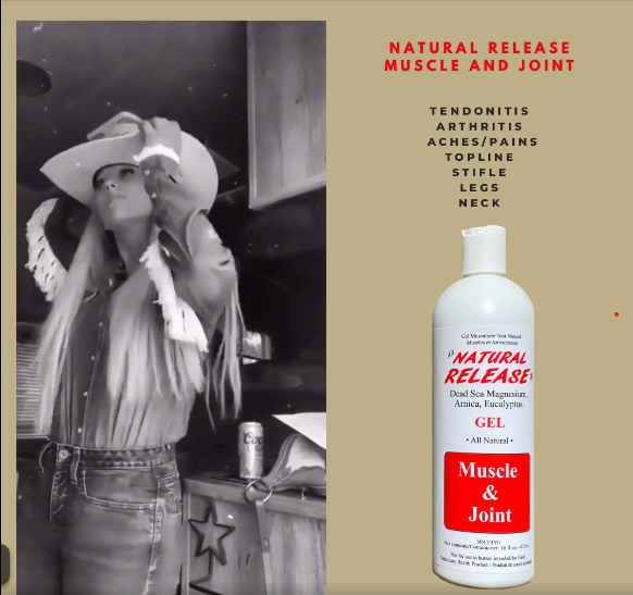 Natural release Muscle and joint liniment
